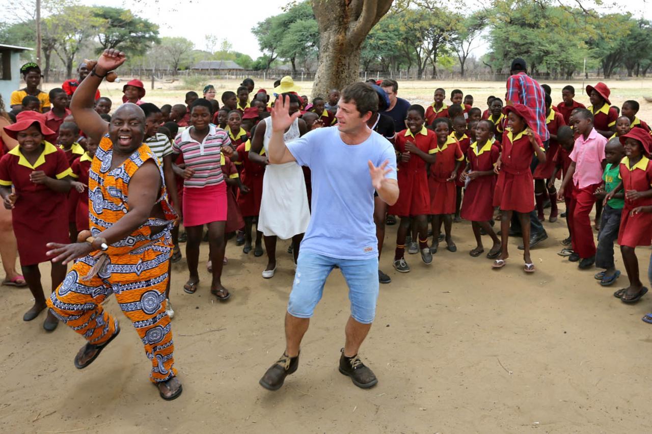 Zimbabwé - Eric et Mathos