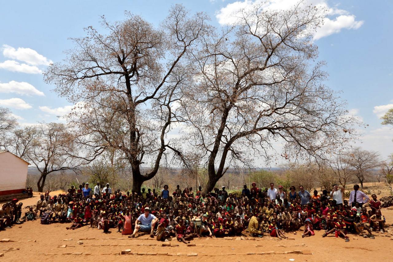 Zimbabwé - Chisuma school