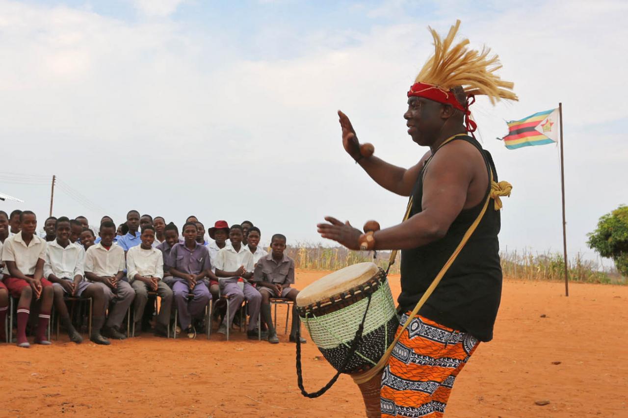 Zimbabwé - Mathos et les ados