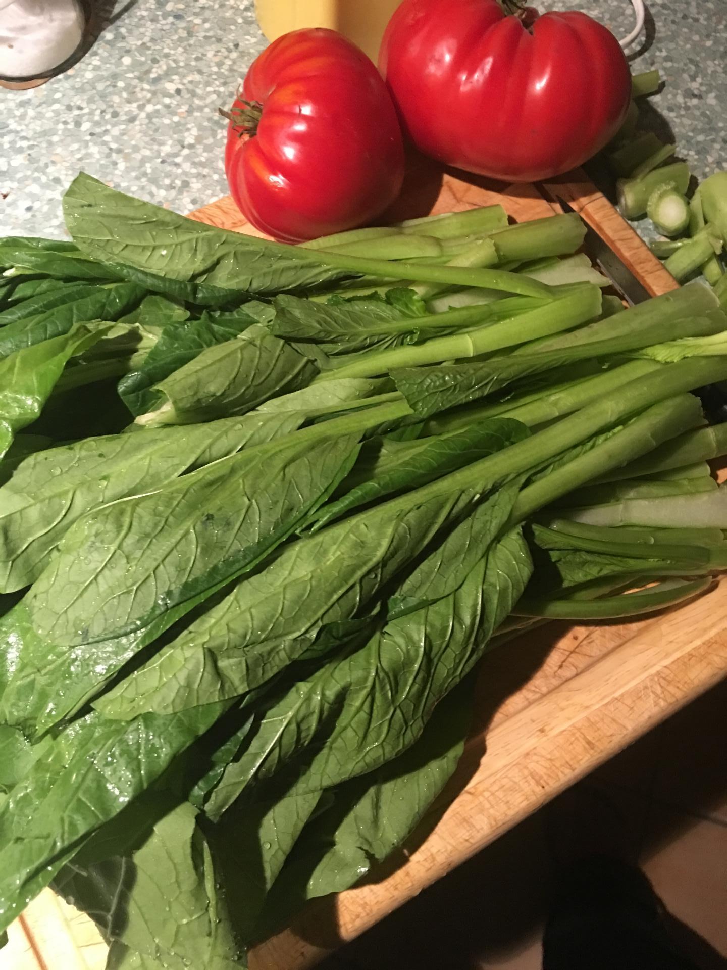 Légumes bouillon de queue de boeuf