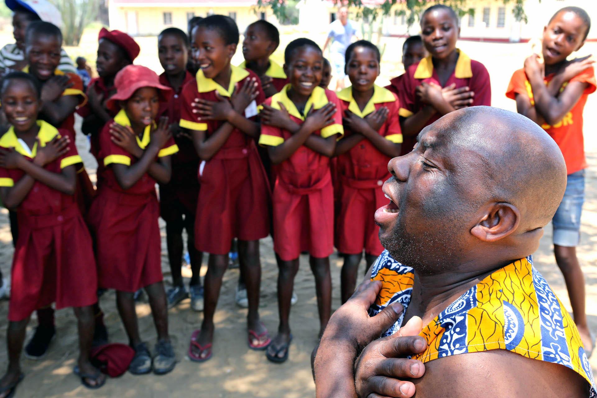 Atelier chant Ngamo School
